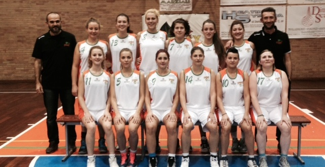 C Femminile Pistoia Basket 87 vs Synergy (32-37)