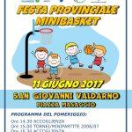 FESTA PROVINCIALE MINIBASKET-